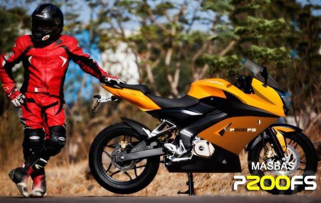 Bajaj Pulsar 200SS fully-faired version