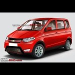 Photo Renderings - Chevrolet's compact version of Enjoy MPV on the works!