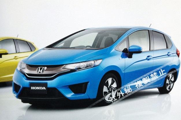 Next-Gen 2015 Honda Jazz - FrontView