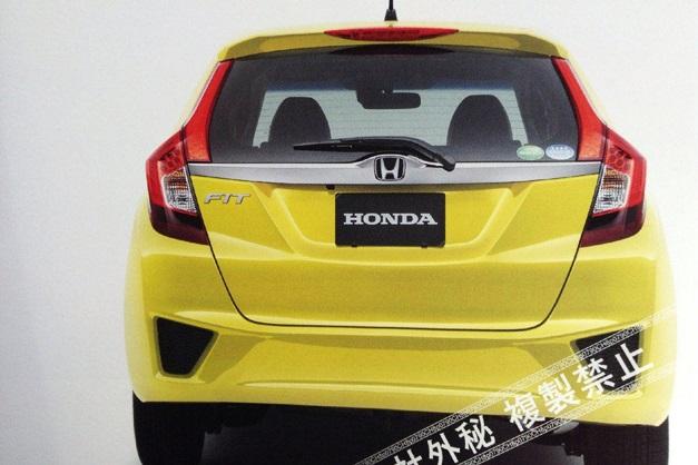 Next-Gen 2015 Honda Jazz - RearView