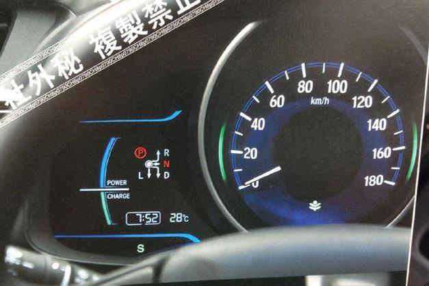 Next-Gen 2015 Honda Jazz - Speedometer