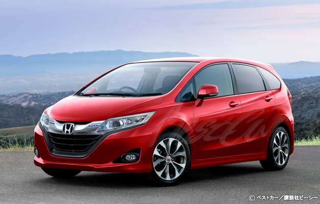 photo renderings 2014 honda jazz looks amazing to. Black Bedroom Furniture Sets. Home Design Ideas