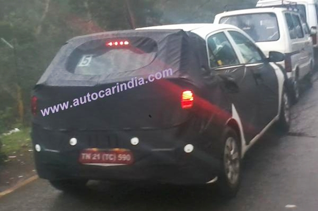 Firstever snaps of Next-Gen 2014 Hyundai i20 hatchback spotted in India