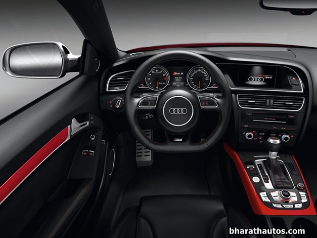 2013 Audi RS5 Coupe - DashView