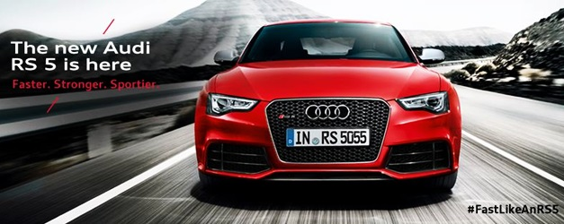 2013 Audi RS5 Coupe facelift India