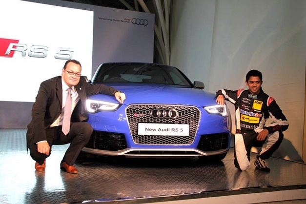 Audi RS5 Coupe facelift-with Michael Perschke and Aditya Patel
