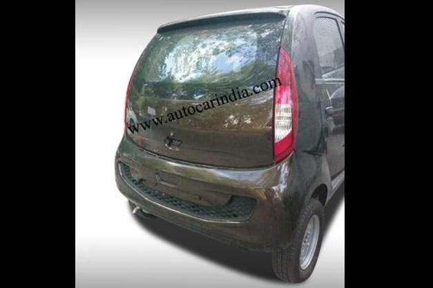 2013 Tata Nano Diesel - RearView
