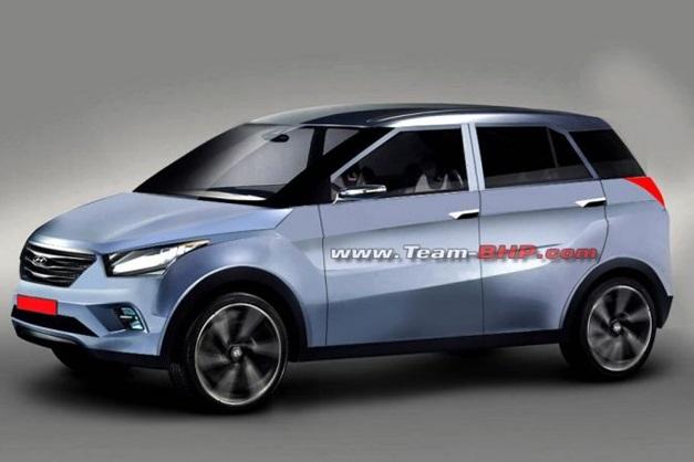 2015 Hyundai Compact SUV (Flat Roof)