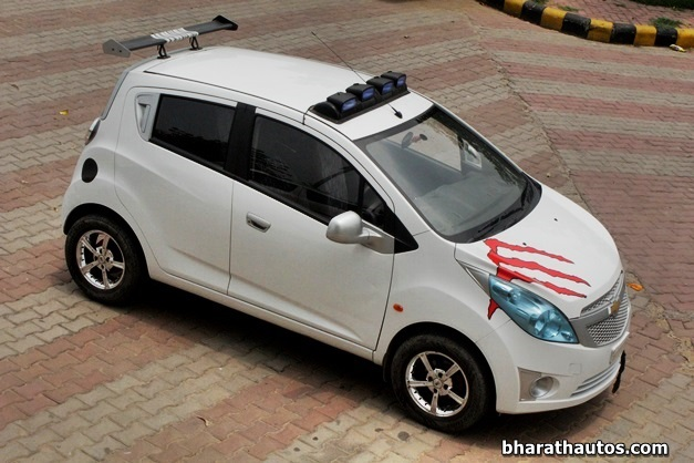 Rahul Modifies His Chevrolet Beat Calls It The Exquisite