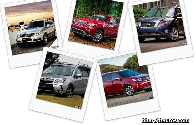 Most Anticipated SUVs for 2014 in Australia
