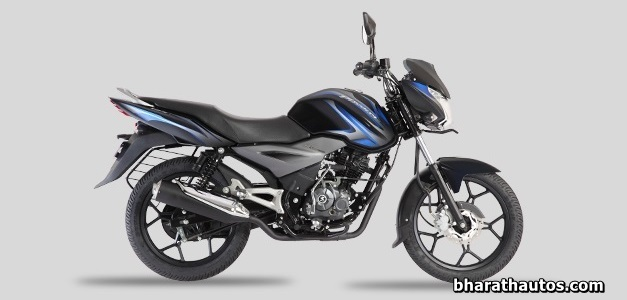 New  Discover 125T - Midnight Black (Blue Decals)