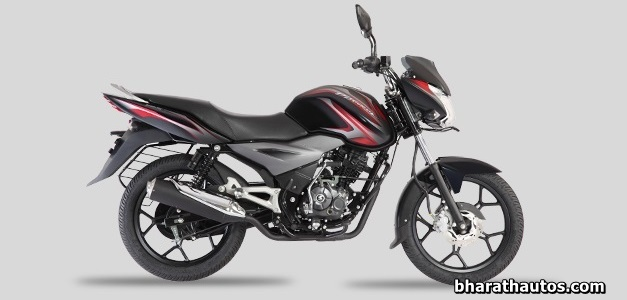 New  Discover 125T - Midnight Black (Red Decals)