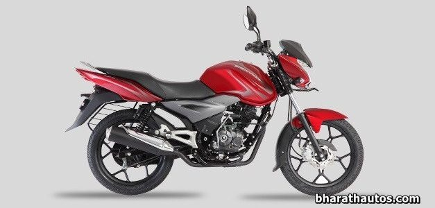New  Discover 125T - Flame Red