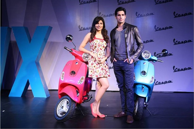 Introducing the brand new Piaggio Vespa VX125 with Sidhharth Malhotra and Vania Mishra.