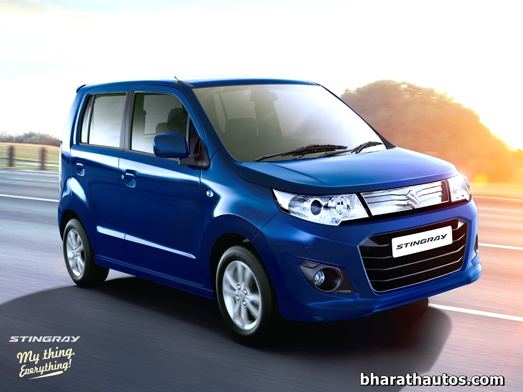 Maruti Suzuki Wagonr Stingray Launched At Rs 4 10 Lakh