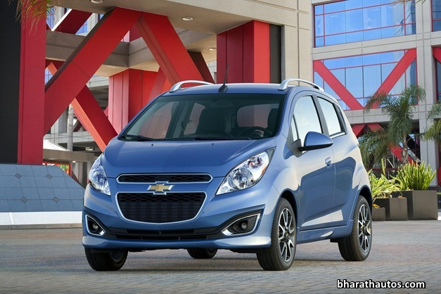 2014-Chevrolet-Beat-Spark-India-FrontView