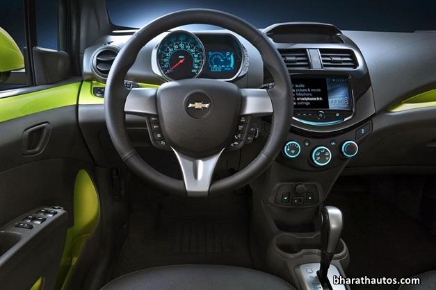 2014-Chevrolet-Beat-Spark-India-InteriorView