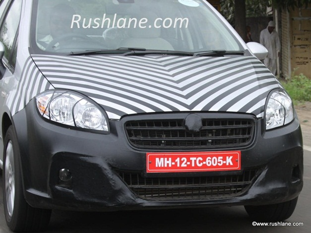 2014-Fiat-Linea-Facelift-India-FrontView