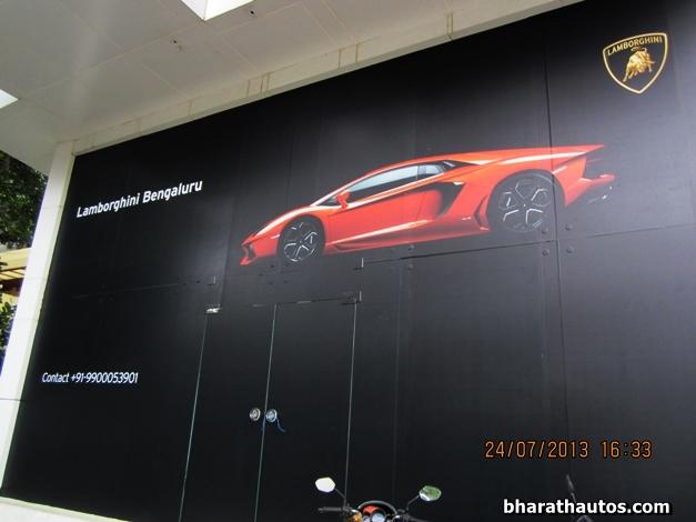 Lamborghini Showroom Bangalore India 002 Bharathautos Automobile