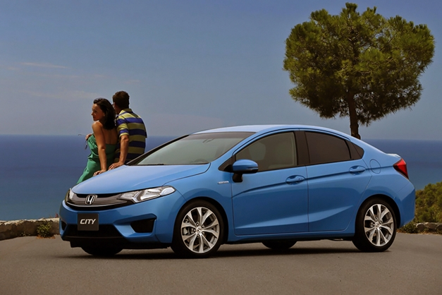 Photo Rendering - Next-Gen 2014 Honda City looks amazing, India launch next-year