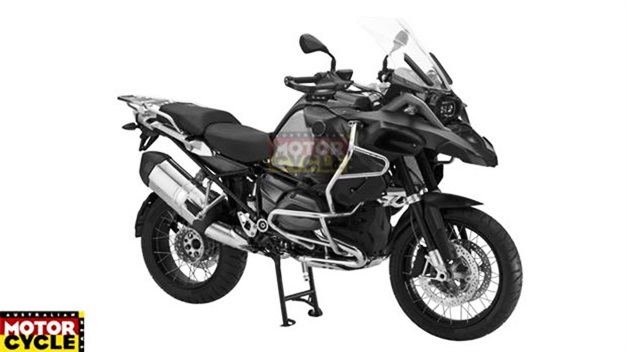 A-new BMW R1200GS Adventure - FrontSideView