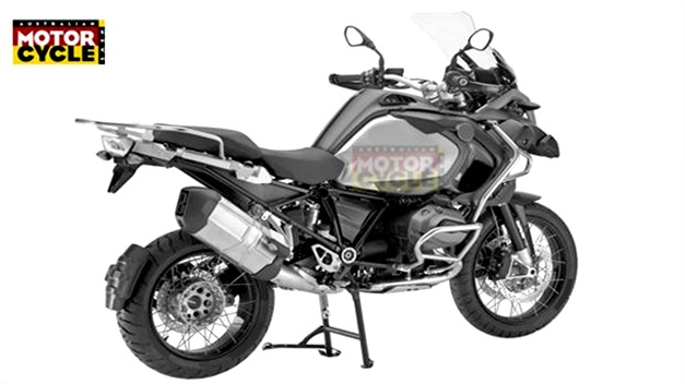 A-new BMW R1200GS Adventure - RearSideView