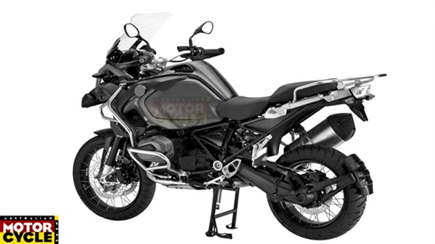 A-new BMW R1200GS Adventure - RearView