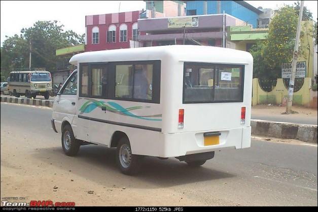 Ashok-Leyland-Dost-Express-Passenger-Van-India-RearView