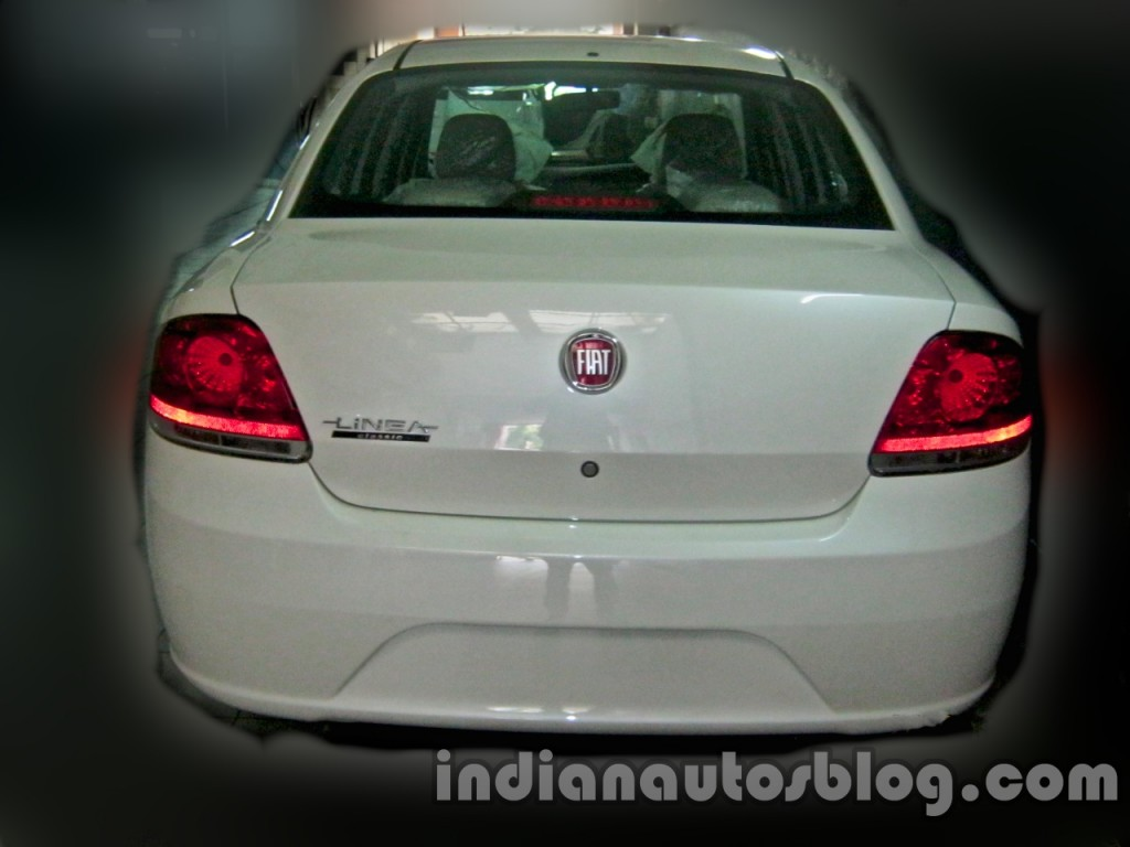 fiat linea classic spied inside-out, just before the launch today