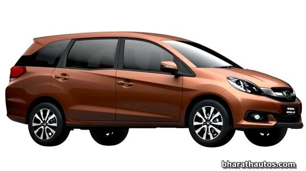 Honda-Brio-Mobilio-MPV-India-FrontView