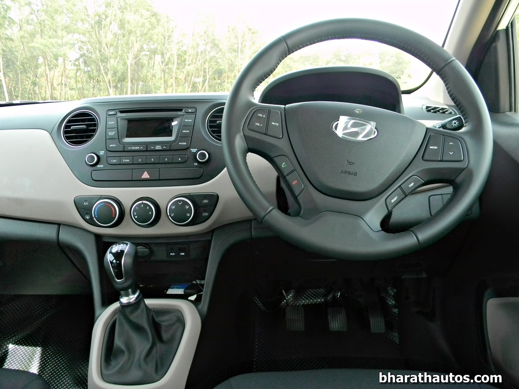 Hyundai Grand I10 Dashview India Bharathautos Automobile