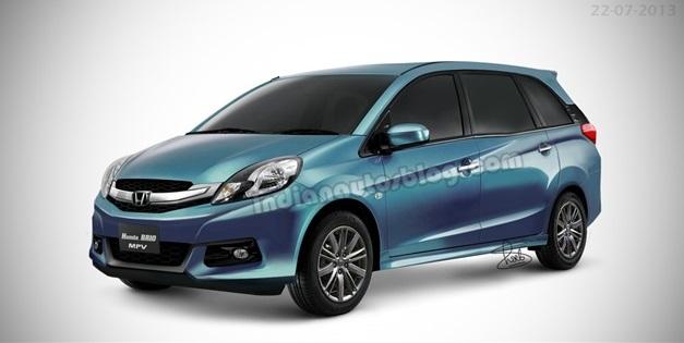 India-Bound-Honda-Brio-MPV-Production-Version
