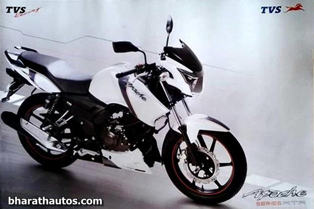 2013-TVS-Apache-RTR-160-White-Paint