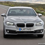 2014-BMW-5_Series-Facelift-India-Front-Fascia