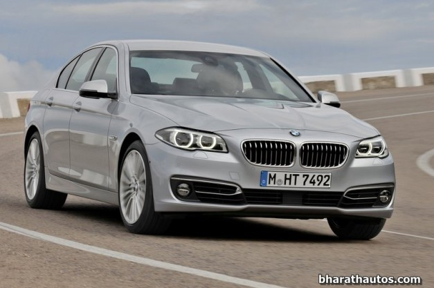2014-BMW-5_Series-Facelift-India-Front-View