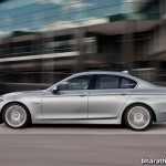 2014-BMW-5_Series-Facelift-India-Side-View