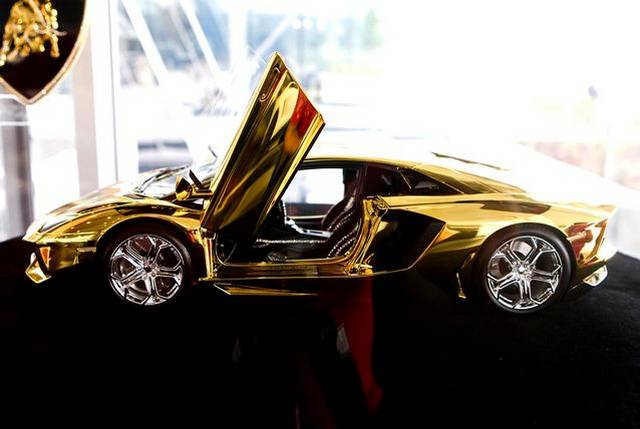 46 Crore Rupees Gold Lamborghini Aventador Awaits New