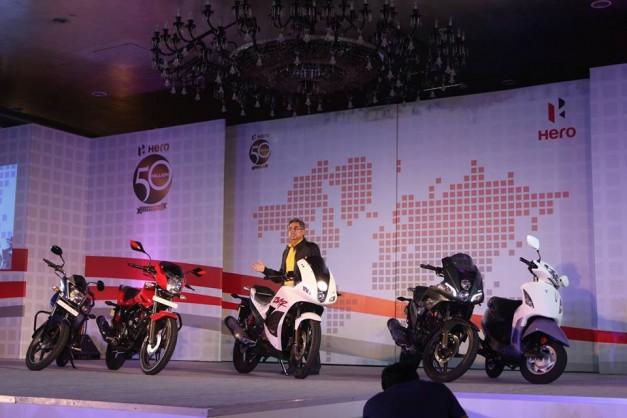 Hero-MotoCor-2014-range-two-wheelers