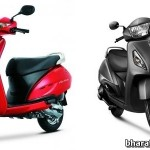 Honda-Activa-VS-TVS-Jupiter-India-Front-View