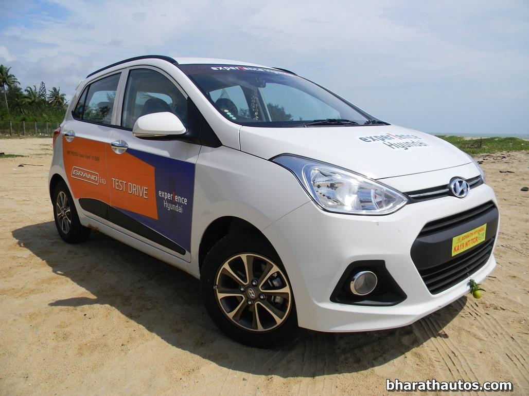hyundai grand i10 diesel automatic to reach us soon. Black Bedroom Furniture Sets. Home Design Ideas
