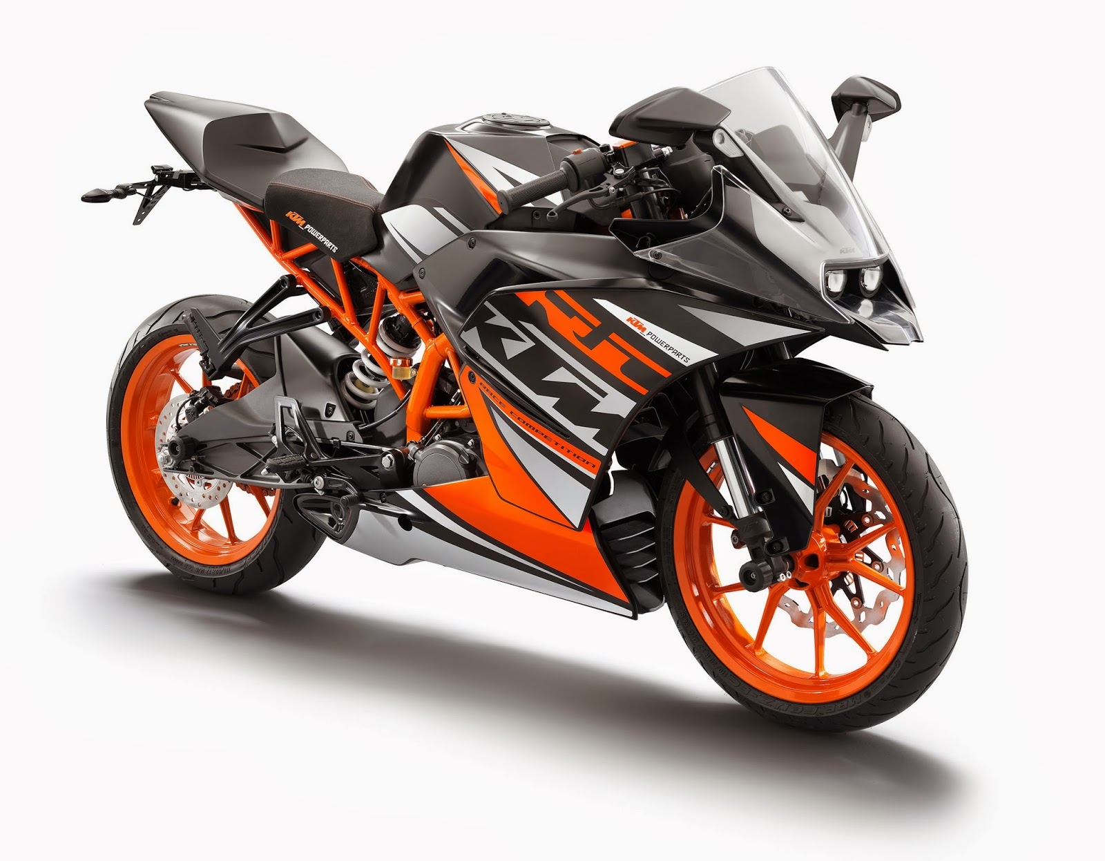 ktm rc 125 200 390 30 high resolution photos released. Black Bedroom Furniture Sets. Home Design Ideas