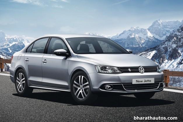 New-Volkswagen-Jetta-facelift-India-Front-View