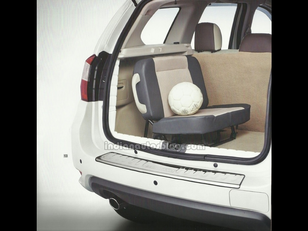 Nissan Terrano Features 3rd Row Seats As Optional