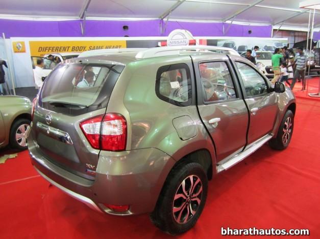 Nissan-Terrano-SUV-Rear-View