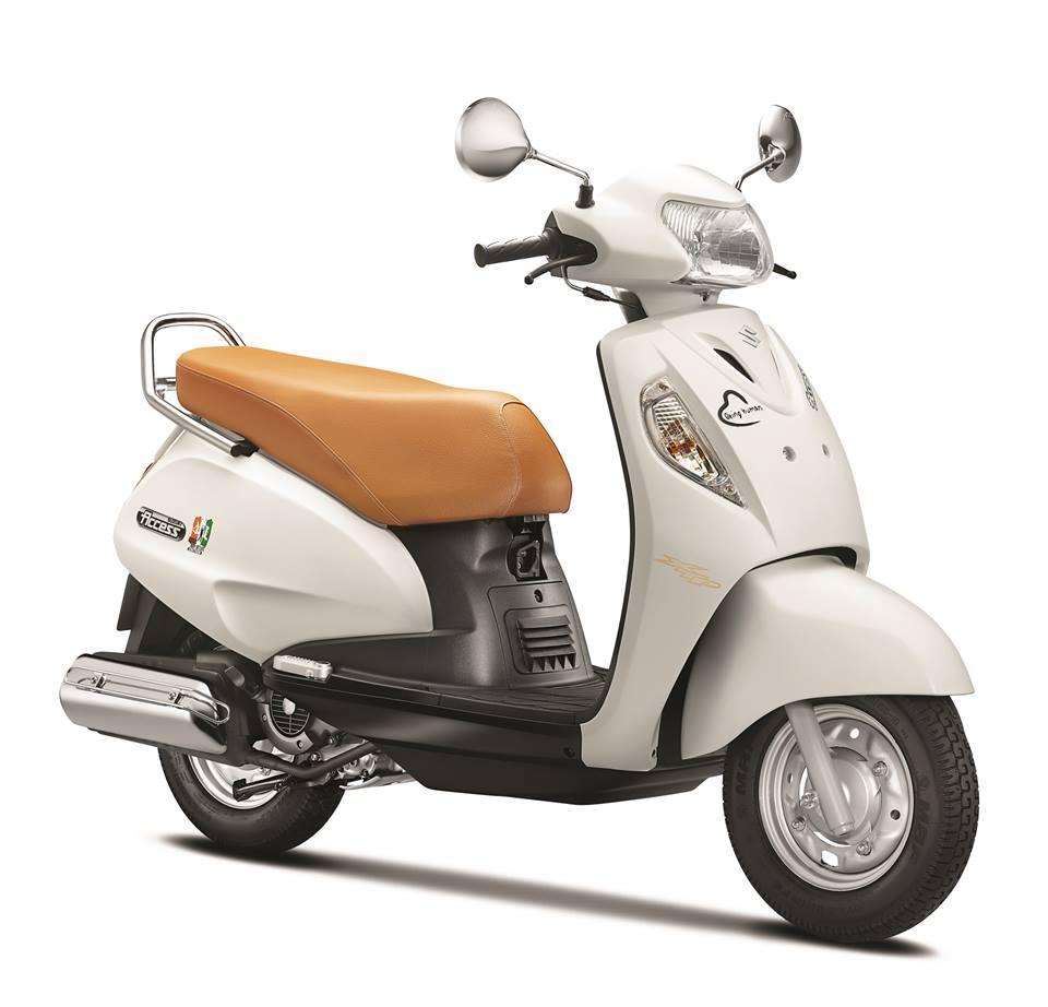 Suzuki Swish White