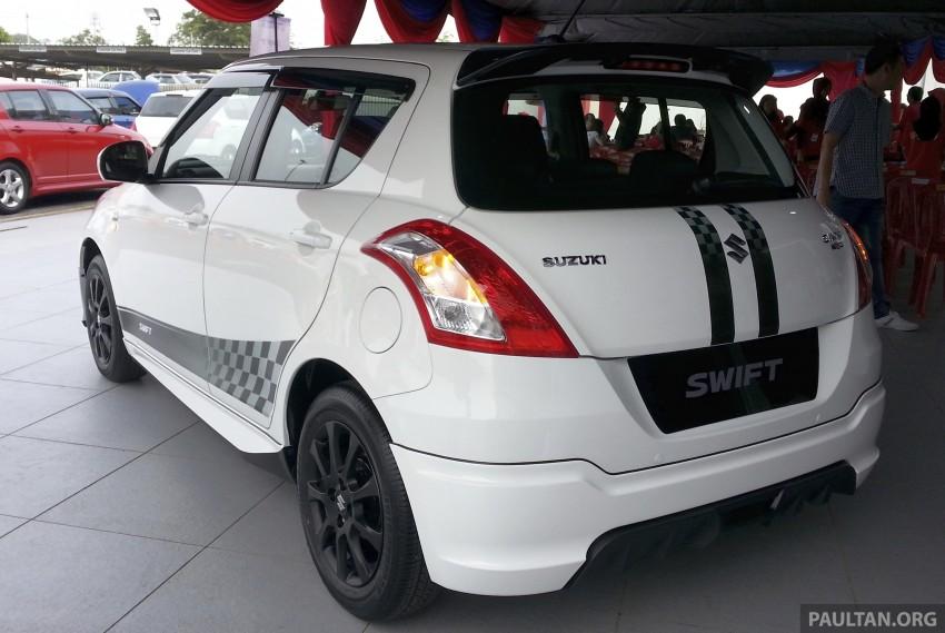 Suzuki Swift RR limited edition of 200 units heads to Malaysia