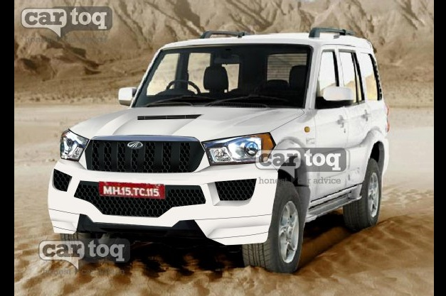 2014-Mahindra-Scorpio-facelift-speculated-rendering