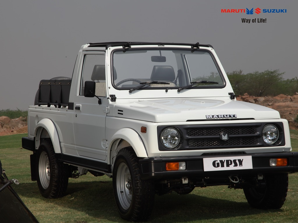 Maruti Gypsy to get a major upgrade soon, adds diesel to ...