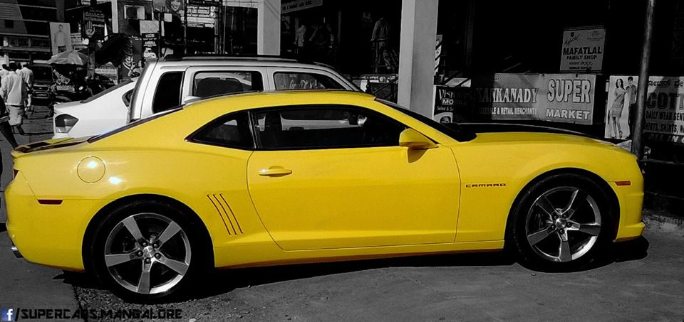 Chevrolet Camaro Bumblebee Arrives In Mangalore With