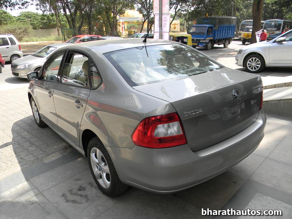 New 2014 Skoda Rapid India 007 Bharathautos Automobile News Updates